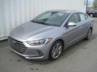 This 2017 Hyundai Elantra Limited PZEV is proudly