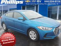 2017 Hyundai Elantra SE Electric Blue Metallic