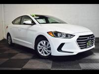 Reward yourself with our 2017 Hyundai Elantra SE Sedan