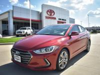 Recent Arrival! CARFAX One-Owner. Scarlet Red 2017