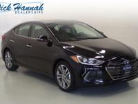 This Elantra is nicely equipped with features such as