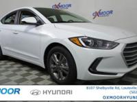 2017 Hyundai Elantra SE 37/28 Highway/City MPG Price