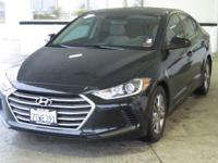 * CLEAN CARFAX * and ** ONE OWNER **. Elantra SE,