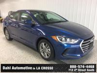 Just Reduced! 2017 Hyundai Elantra SE Lakeside Blue