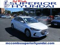 The redesigned Hyundai Elantra has a lot of features