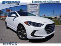 New Price! 2017 White Hyundai Elantra Value Edition