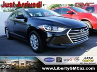 Gasoline! The Liberty GMC EDGE! This 2017 Elantra is
