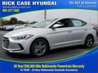 2017 Hyundai Elantra SE  in Silver and 20 year or