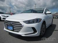 This 2017 Hyundai Elantra is equipped with the SE trim