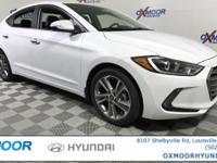 2017 Hyundai Elantra Limited 37/28 Highway/City MPG