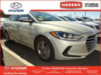THIS ELANTRA IS CERTIFIED! CARFAX ONE OWNER! KEYLESS