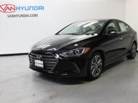 2017 Hyundai Elantra Limited 37/28 Highway/City MPG