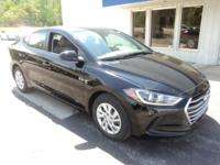 2017 Hyundai Elantra Keyless Entry, Satellite Radio,