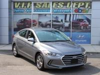 2017 Hyundai Elantra FWD 6-Speed Automatic 2.0L