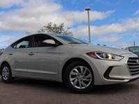 2017 Hyundai Elantra SE 38/29 Highway/City MPG