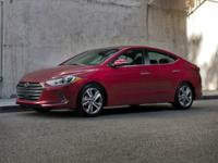 2017 Hyundai Elantra SE Scarlet Red 38/29 Highway/City