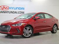 Recent Arrival! New Price! 2017 Hyundai Elantra Limited