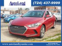 Don't miss out on this 2017 Hyundai Elantra SE! It