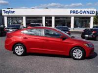 This Hyundai Elantra is CERTIFIED! Low miles for a