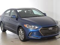 2017 Hyundai Elantra Limited !!!This 2017 Hyundai