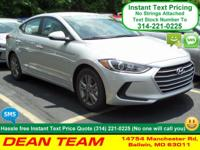 Lead the way in our 2017 Hyundai Elantra SE in Symphony