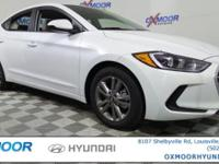 2017 Hyundai Elantra SE 38/29 Highway/City MPG Price