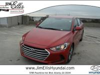 2017 Hyundai Elantra SEPriced below KBB Fair Purchase