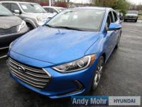 2017 Hyundai Elantra Limited FWD 6-Speed Automatic with