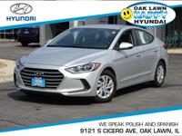 New Arrival! This 2017 Hyundai Elantra Includes