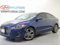Recent Arrival! 2017 Hyundai Elantra Limited 37/28