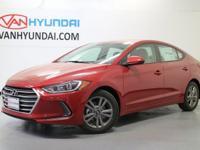 Recent Arrival! 2017 Hyundai Elantra Value Edition
