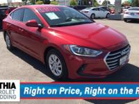 SE trim, SCARLET RED exterior and GRAY interior. CARFAX