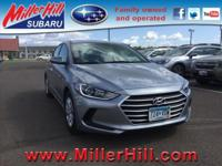2017 Hyundai Elantra SE Sedan ready to go! With