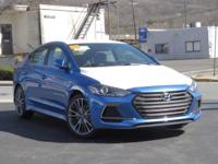 2017 Hyundai Elantra Sport 30/22 Highway/City MPG