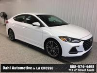Just Reduced! 2017 Hyundai Elantra Sport Ceramic White