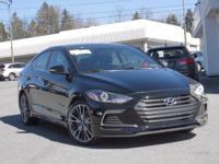 2017 Hyundai Elantra Sport  Options:  Heated Front