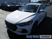 2017 Hyundai Elantra Sport 4-Wheel Disc Brakes, Air
