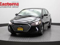 2017 4D Sedan Black 2017 Hyundai Elantra Value Edition