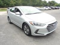 2017 Hyundai Elantra MP3, Keyless Entry, Satellite