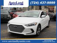 This 2017 Hyundai Elantra Value Edition is a great