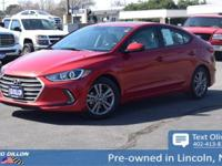 Come see this 2017 Hyundai Elantra Value Edition while