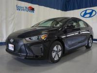 Black 2017 Hyundai Ioniq Hybrid Blue FWD 6-Speed
