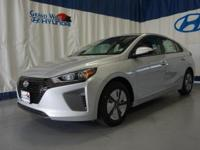 Gray 2017 Hyundai Ioniq Hybrid Blue FWD 6-Speed