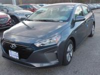 This 2017 Hyundai Ioniq Hybrid Blue is proudly offered