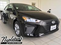 New Price! 2017 Hyundai Ioniq Hybrid in Black, AUX