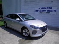 Silver 2017 Hyundai Ioniq Hybrid Blue FWD 6-Speed