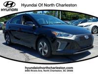 Black 2017 Hyundai Ioniq Hybrid SEL FWD 6-Speed