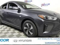 2017 Hyundai Ioniq Hybrid SEL 1.6L I4 DGI Hybrid DOHC