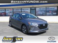 Ioniq Hybrid SEL, Summit White, and Black. 6spd! Bring
