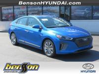 Ioniq Hybrid Limited, 4D Hatchback, Electric, and